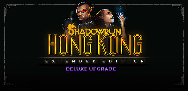 Shadowrun: Hong Kong - Extended Edition Deluxe Upgrade DLC - Cover / Packshot