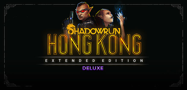 Shadowrun: Hong Kong - Extended Edition Deluxe - Cover / Packshot