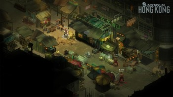 Screenshot1 - Shadowrun: Hong Kong - Extended Edition Deluxe