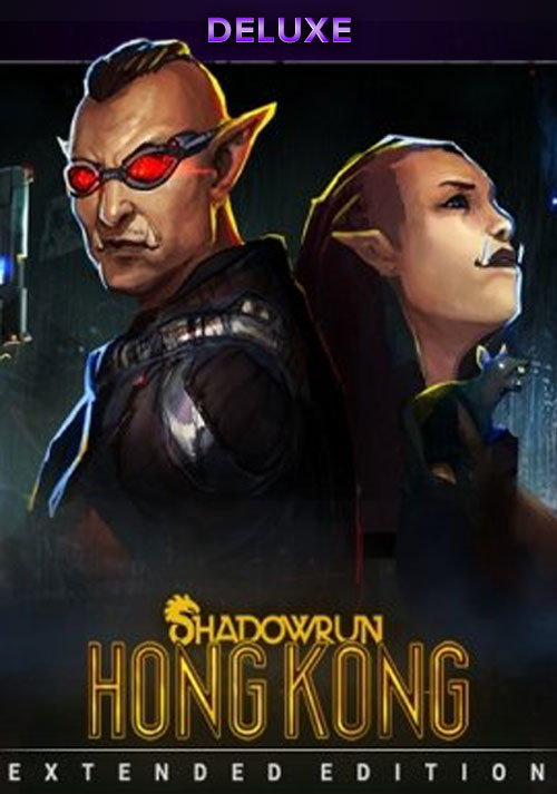 Shadowrun: Hong Kong - Extended Edition Deluxe - Cover