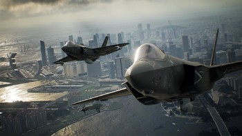Screenshot1 - Ace Combat 7: Skies Unknown Deluxe Edition