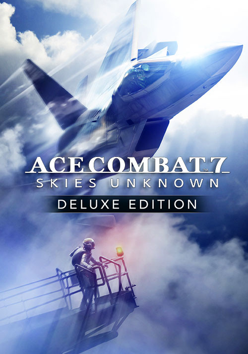 Ace Combat 7: Skies Unknown Deluxe Edition - Cover / Packshot