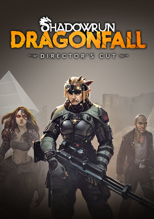Shadowrun: Dragonfall - Director's Cut - Cover