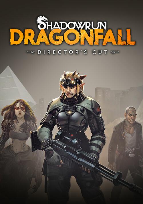 Shadowrun: Dragonfall - Director's Cut - Cover