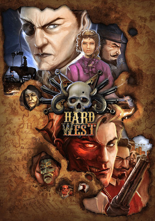 Hard West - Cover / Packshot