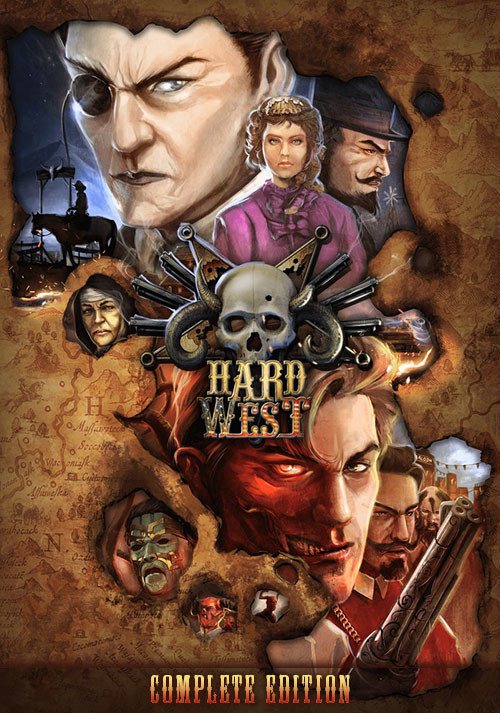 Hard West - Complete Edition - Cover / Packshot