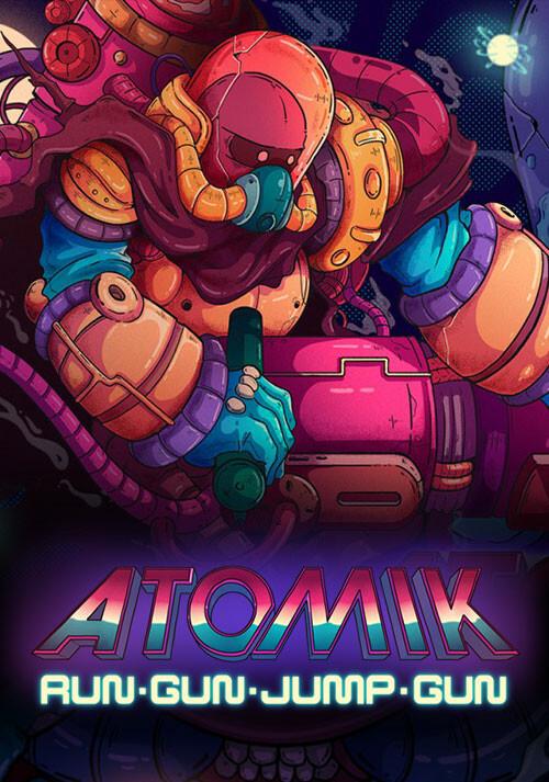 Atomik: RunGunJumpGun - Cover / Packshot