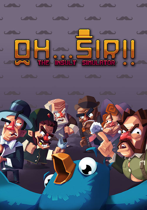 Oh...Sir!! The Insult Simulator - Cover / Packshot