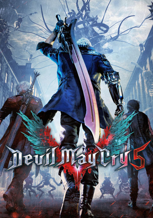 Devil May Cry 5 - Cover