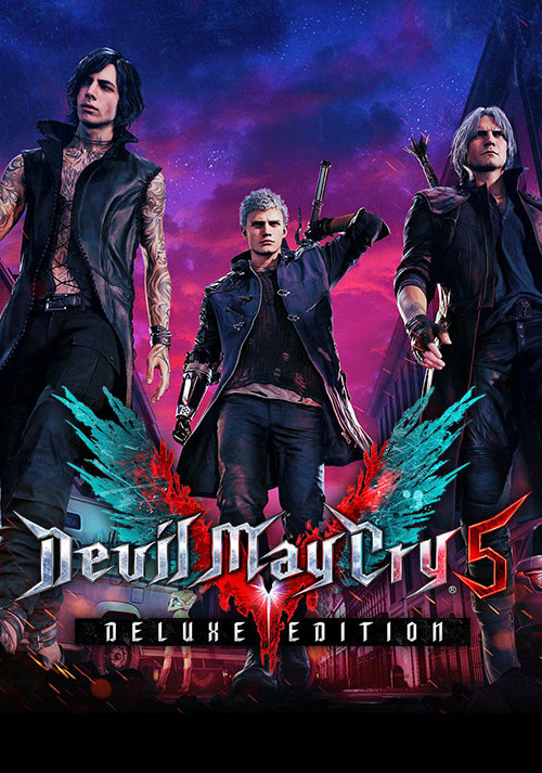 Devil May Cry 5 - Deluxe Edition - Cover
