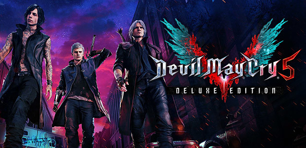 Devil May Cry 5 - Deluxe Edition - Cover / Packshot