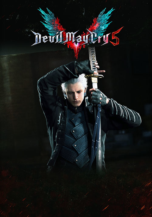 Devil May Cry 5 - Playable Character: Vergil - Cover / Packshot
