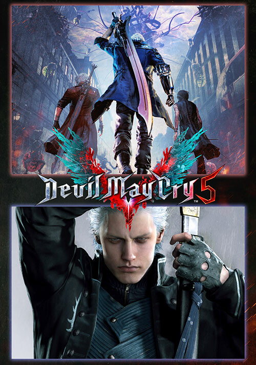 Devil May Cry 5 + Vergil - Cover / Packshot