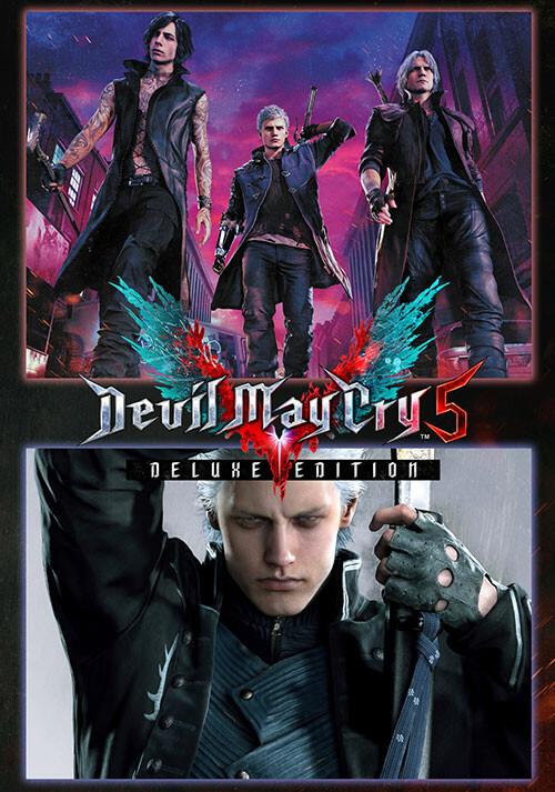 Devil May Cry 5 Deluxe + Vergil - Cover / Packshot