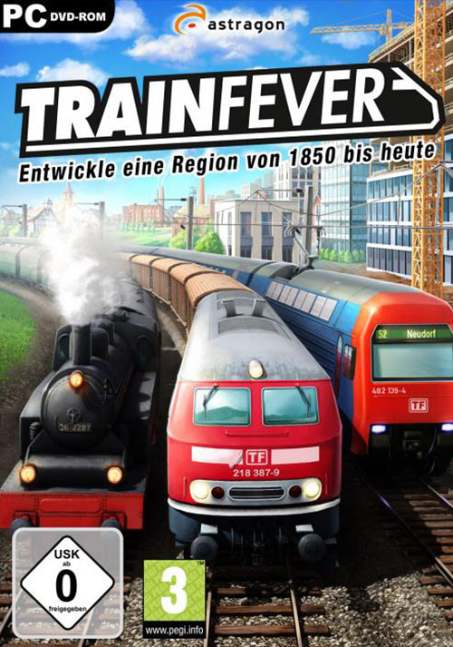 Train Fever - Cover / Packshot