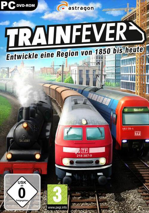 Train Fever - Cover / Packshot