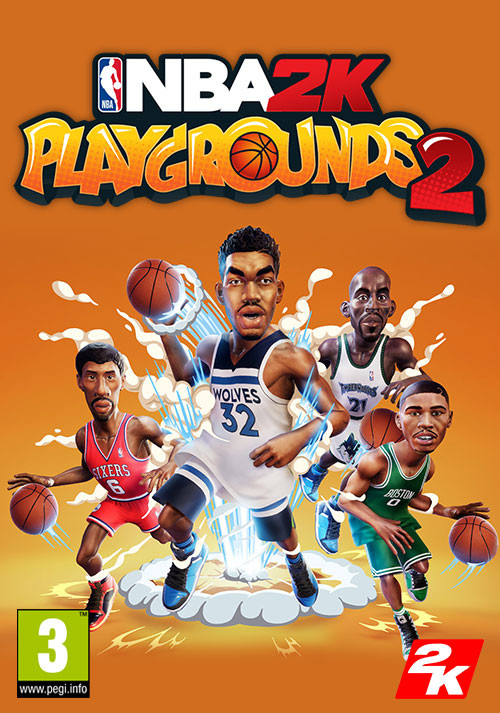 NBA 2K Playgrounds 2 - Cover