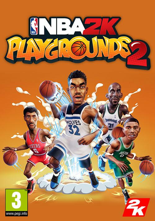 NBA 2K Playgrounds 2 - Cover / Packshot