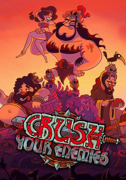 Crush Your Enemies - Cover / Packshot