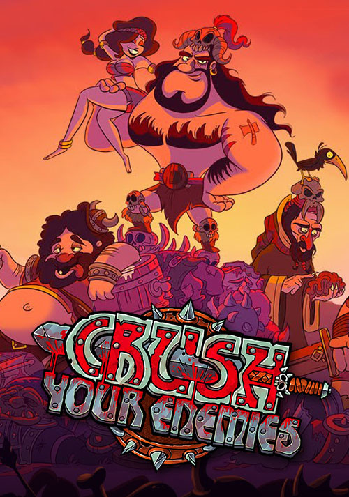 Crush Your Enemies - Cover / Packshot