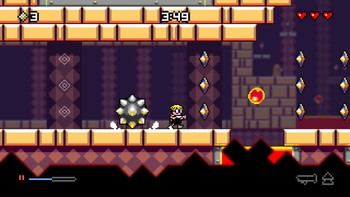 Screenshot1 - Mutant Mudds Deluxe