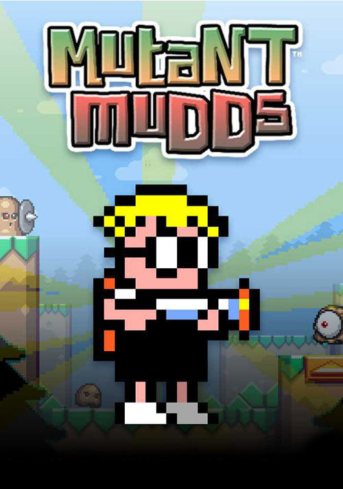 Mutant Mudds Deluxe - Cover