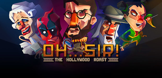 Oh...Sir! The Hollywood Roast - Cover / Packshot