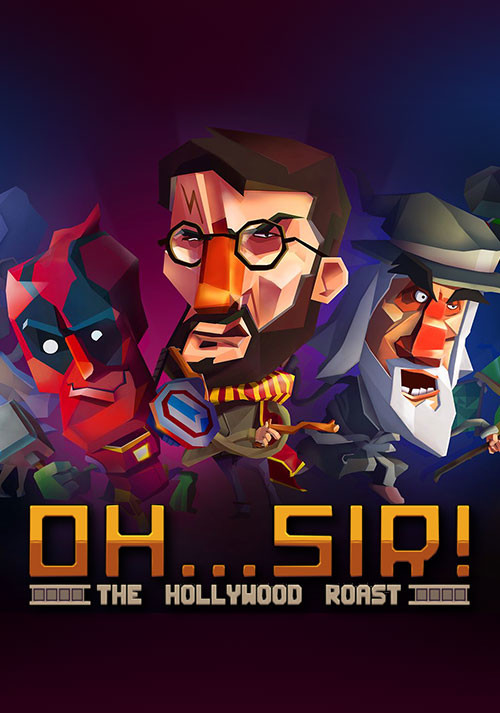 Oh...Sir! The Hollywood Roast - Cover