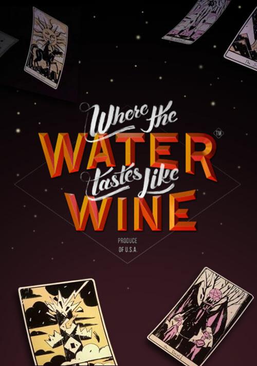 Where the Water Tastes Like Wine - Cover / Packshot