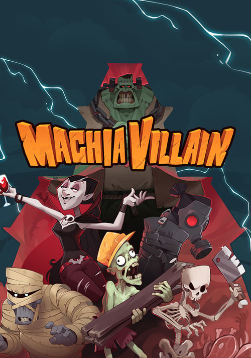 MachiaVillain - Cover / Packshot