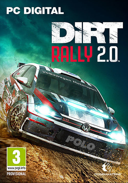 DiRT Rally 2.0 - Cover / Packshot