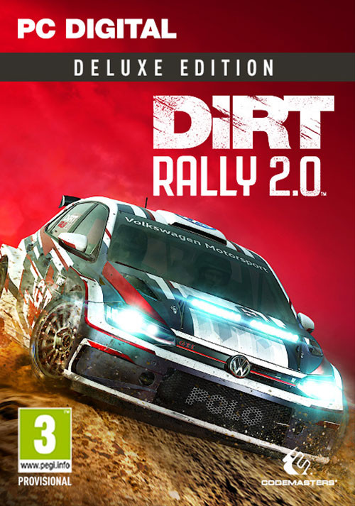 DiRT Rally 2.0 - Deluxe Edition - Cover / Packshot