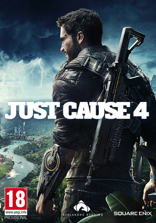 Just Cause 4 - Cover / Packshot