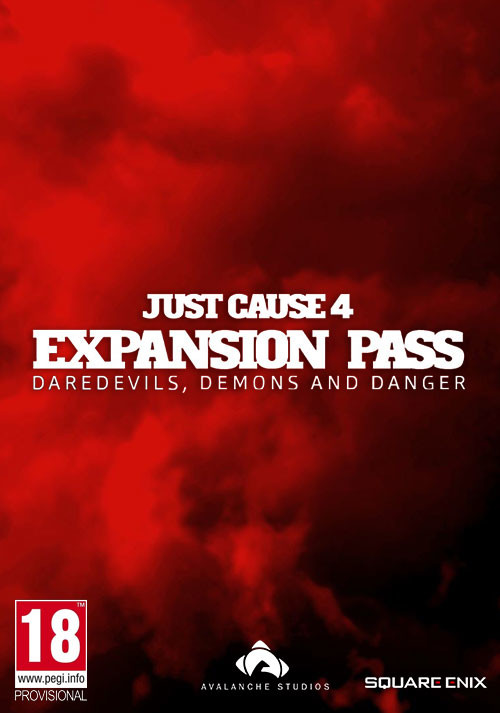 Just Cause 4: Expansion Pass - Cover / Packshot
