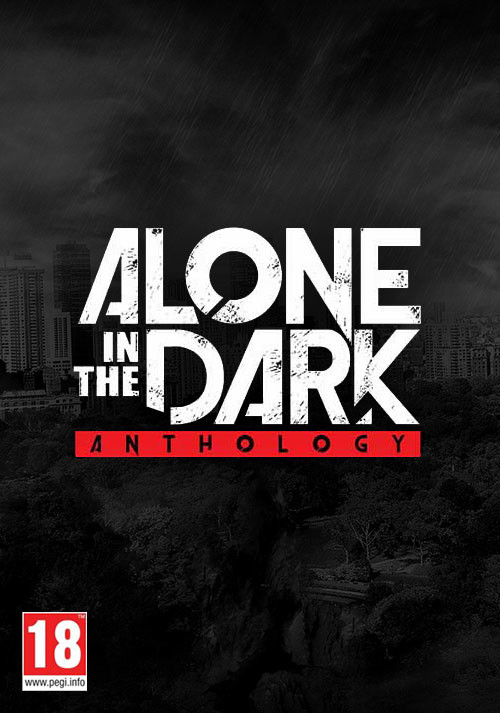 Alone in the Dark Anthology - Cover / Packshot