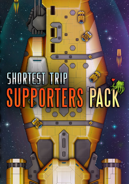 Shortest Trip to Earth - Supporters Pack - Cover / Packshot