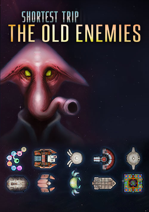Shortest Trip to Earth - The Old Enemies - Cover / Packshot