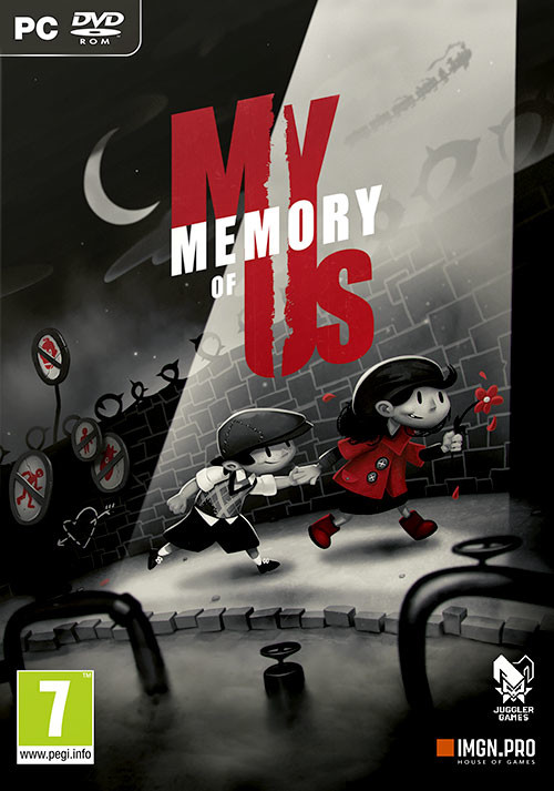 My Memory of Us - Cover / Packshot