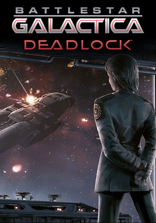 Battlestar Galactica Deadlock - Cover / Packshot