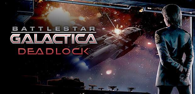 Battlestar Galactica Deadlock - Cover / Packshot