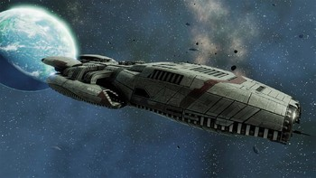 Screenshot1 - Battlestar Galactica Deadlock: Sin and Sacrifice (GOG)