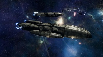 Screenshot1 - Battlestar Galactica Deadlock: Resurrection (GOG)