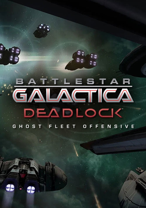 Battlestar Galactica Deadlock: Ghost Fleet Offensive - Cover / Packshot