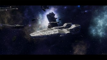 Screenshot2 - Battlestar Galactica Deadlock: Ghost Fleet Offensive (GOG)