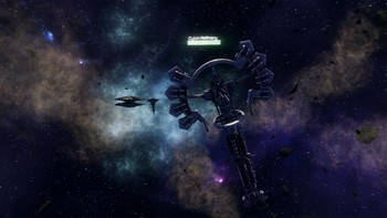 Screenshot4 - Battlestar Galactica Deadlock: Ghost Fleet Offensive (GOG)