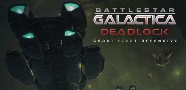 Battlestar Galactica Deadlock: Ghost Fleet Offensive (GOG) - Cover / Packshot