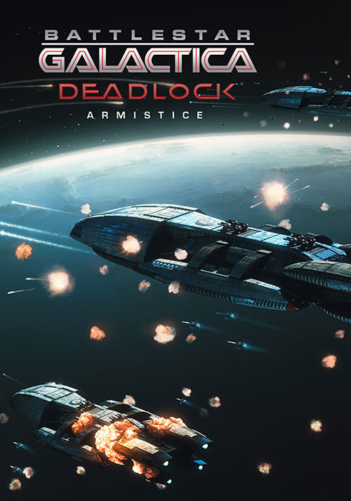 Battlestar Galactica Deadlock: Armistice - Cover / Packshot
