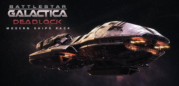 Battlestar Galactica Deadlock: Modern Ships Pack - Cover / Packshot