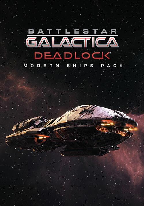 Battlestar Galactica Deadlock: Modern Ships Pack (GOG) - Cover / Packshot