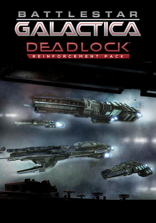 Battlestar Galactica Deadlock: Reinforcement Pack - Cover / Packshot